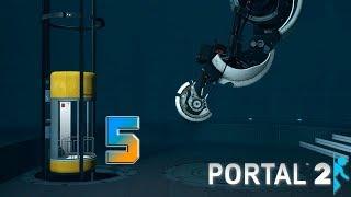 Portal 2 прохождение на геймпаде [60 fps] часть 5 За кулисами