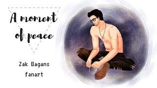 SPEEDPAINT - A moment of peace (Zak Bagans fanart)