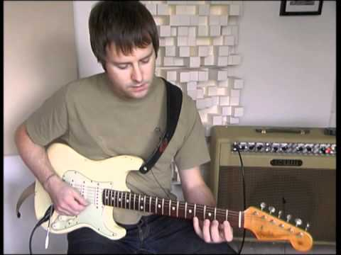 "Guitar technique lesson - ""Learning to Relax the L..."