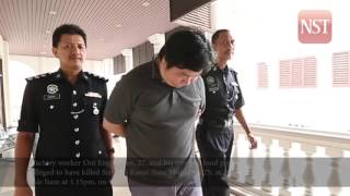 Mother and son charged with killing neighbour