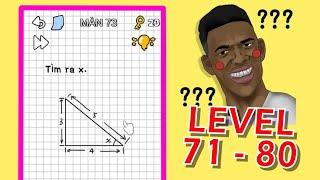 Stump me level 71 - 80 đáp án tiếng việt game hại não Can you pass it