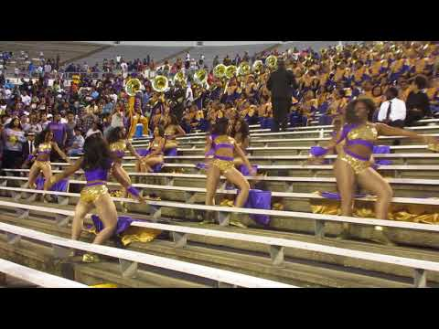 Alcorn State Braves Marching Band (2017) Capital City Classic