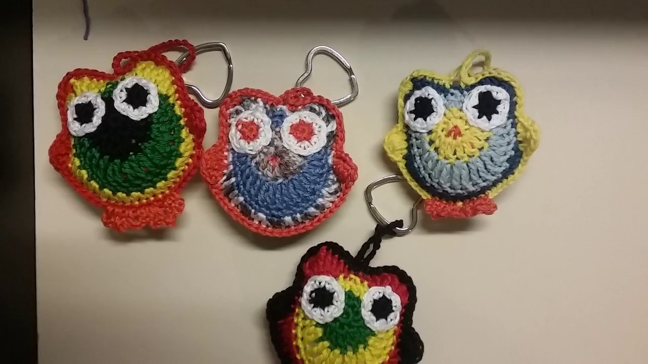 Tuto Chouette Au Crochet