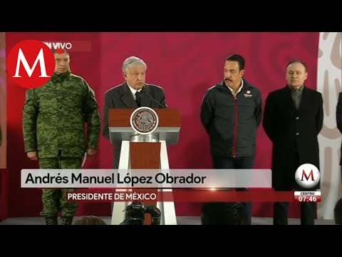Va a seguir plan contra huachicoleo: Andrés Manuel López Obrador