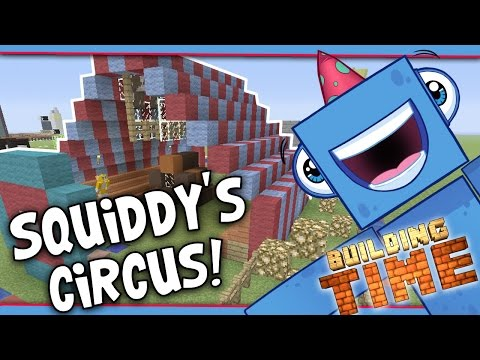 Minecraft Xbox - SQUIDDY'S CIRCUS! - Building Time! [#29]