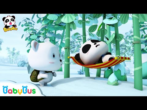 Bayi Panda Cerdik | Manakah Panda Kiki Yang Sebenarnya ? | Bahasa Indonesia | BabyBus