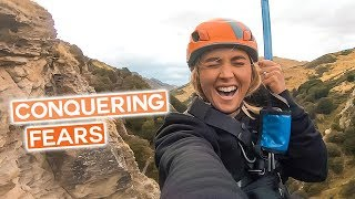 Facing FEAR OF HEIGHTS in Queenstown | Canyon Swing & Canyoning | Wild Kiwi