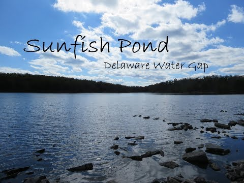 Hiking To Sunfish Pond, Delaware Water Gap, NJ