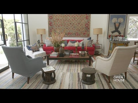 Inside Kathryn Ireland's Home with Elle Decor | Open House TV