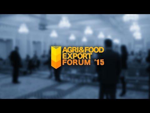 Agri & Food Export Forum