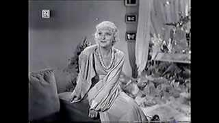 """Hilde Hildebrand - Warum liebt man so die Liebe (Auszug aus """"Ich war Jack Mortimer"""", 1935)"""