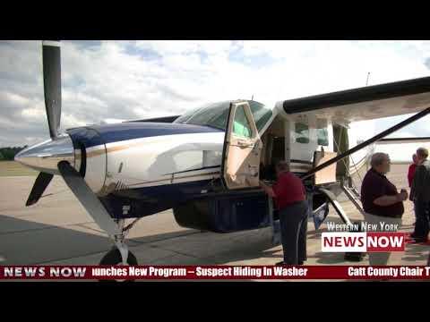 Southern Airways Departs Jamestown Airport