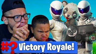 THIS MADE MY 9 YEAR OLD LITTLE BROTHER RAGE AND *DESTROY* HIS PS4 CONTROLLER FORTNITE: BATTLE ROYALE