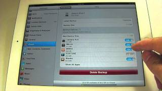 How to manage iCloud storage on iOS 5