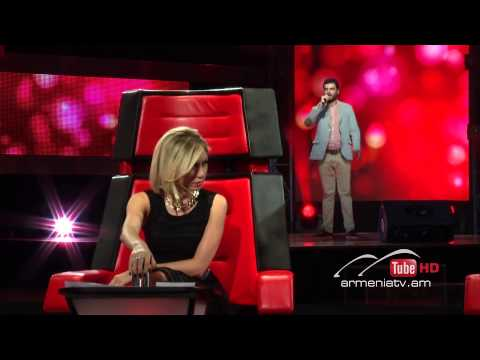 Arman Lazaryan,Un Amore Cosi Grande - The Voice Of Armenia - Blind Auditions - Season 2