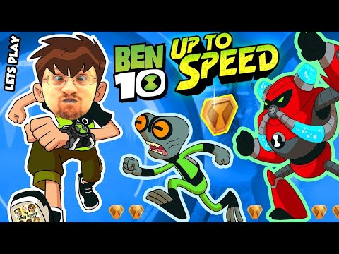 ALIENS INVADE FGTEEV!!  BEN 10: UP TO SPEED Cartoon Network Game w/ Duddy & Omnitrix (Ben 10 Reboot)