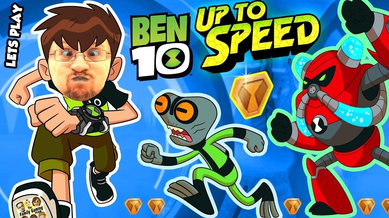 ALIENS INVADE FGTEEV!! BEN 10: UP TO SPEED Cartoon Network ...