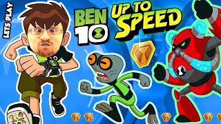 ALIENS INVADE FGTEEV!!  BEN 10: UP TO SPEED Cartoon Network Game w/ Duddy & Omnitrix (Ben 10 Reboot)(FGTEEV Duddy is putting his Alien Hat on with the New Ben 10 Up to Speed Game for Mobile! It's a Forward Scrolling Runner game packed with tons of levels, ..., 2017-01-12T18:08:45.000Z)