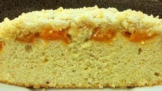 Абрикосовый пирог с незабываемой воздушной корочкой!!!