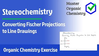 Converting Fischer Projections to Line Drawings