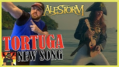 I'd Do This One Live!! | ALESTORM - Tortuga (feat. Captain Yarrface) (Official Video) | REACTION