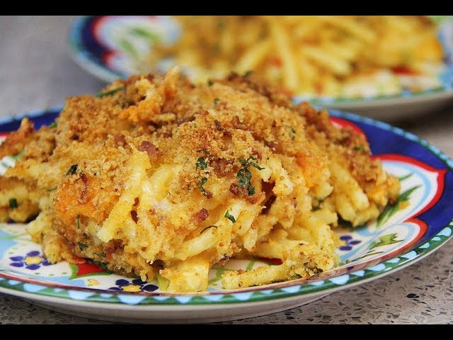 The Ultimate Macaroni Pie (with chef Marc) | CaribbeanPot.com