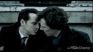Sherlock & Moriarty Kiss | Sherlock Series 3 Episode 1