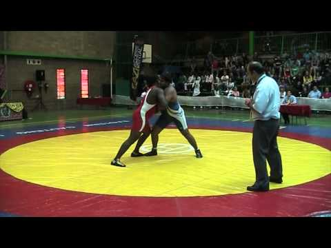 2013 Commonwealth Championships: 120 kg GR Final Sinivie Boltic (NGR) vs. Naveen (IND)