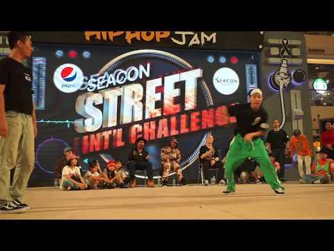 SmallBlack HipHop Battle Top 8 ''[ Seacon Street Challenge 2017 ] Bangkok Thailand!