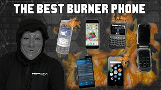 Why You Need This Burner Phone / BEST OPTION