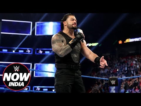 The Roman Empire arrives on SmackDown Live: WWE Now India