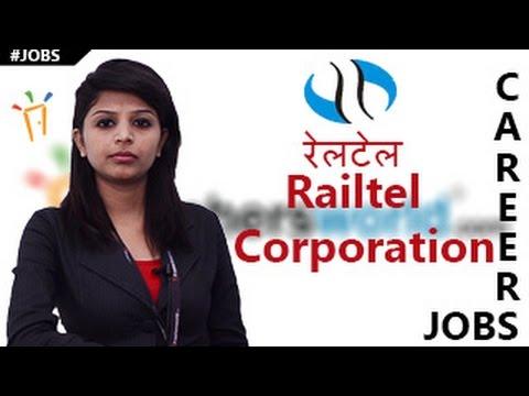 RAILTEL Corporation of India Recruitment Notification,Employment News ,Exam dates & results