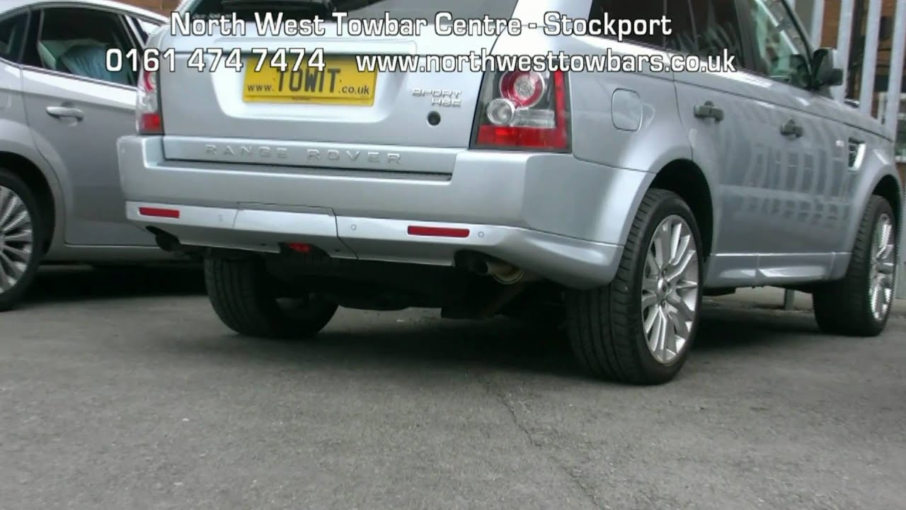 Trailer Wiring Harness 2013 Range Rover Sport Hse 49 Maxresdefault Towbar Video Thule Detachable Youtube At