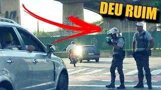 FEZ GRAÇA NA FRENTE DA POLÍCIA SE FUD&U
