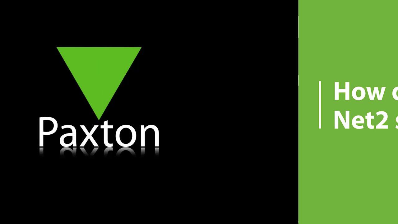 paxton net2 4.28