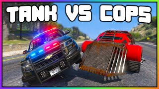 GTA 5 Roleplay - TANKS MESS WITH POLICE | RedlineRP