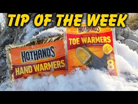 """Unique Uses For Hand Warmers - """"Tip Of The Week"""" E31"""