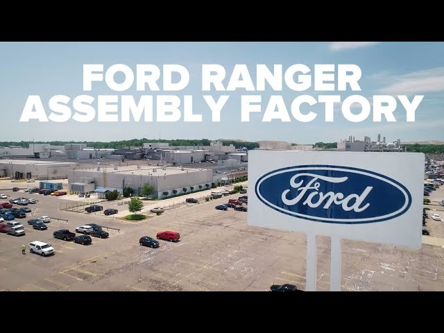 2019 Ford Ranger Assembly Factory built in 20 seconds