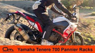 Yamaha Tenere 700 Pannier Racks Installation by Outback Motortek
