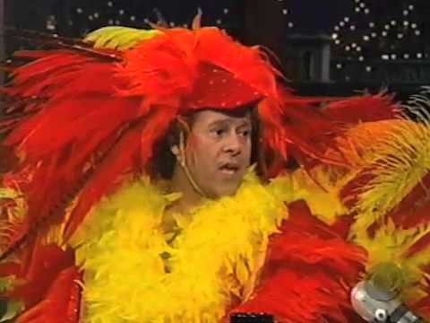 Letterman: Richard Simmons Dressed as a Turkey
