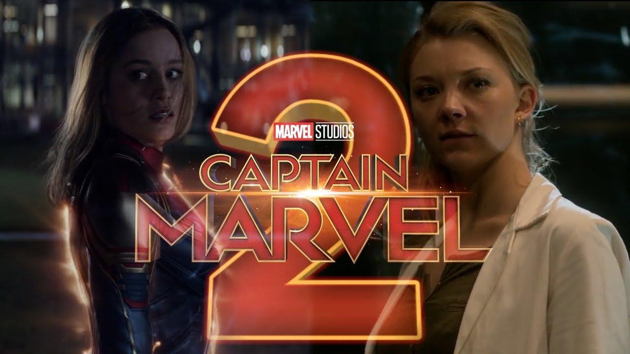 Marvel's Captain Marvel 20 Trailer   Fan Made  Brie Larson, Natalie Dormer