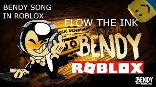 Bendy Roblox Flow the ink(roblox cover)
