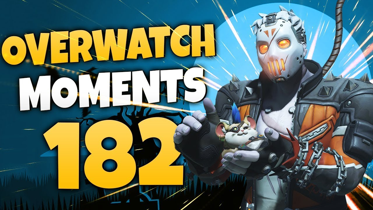 Overwatch Moments #182 Videosu
