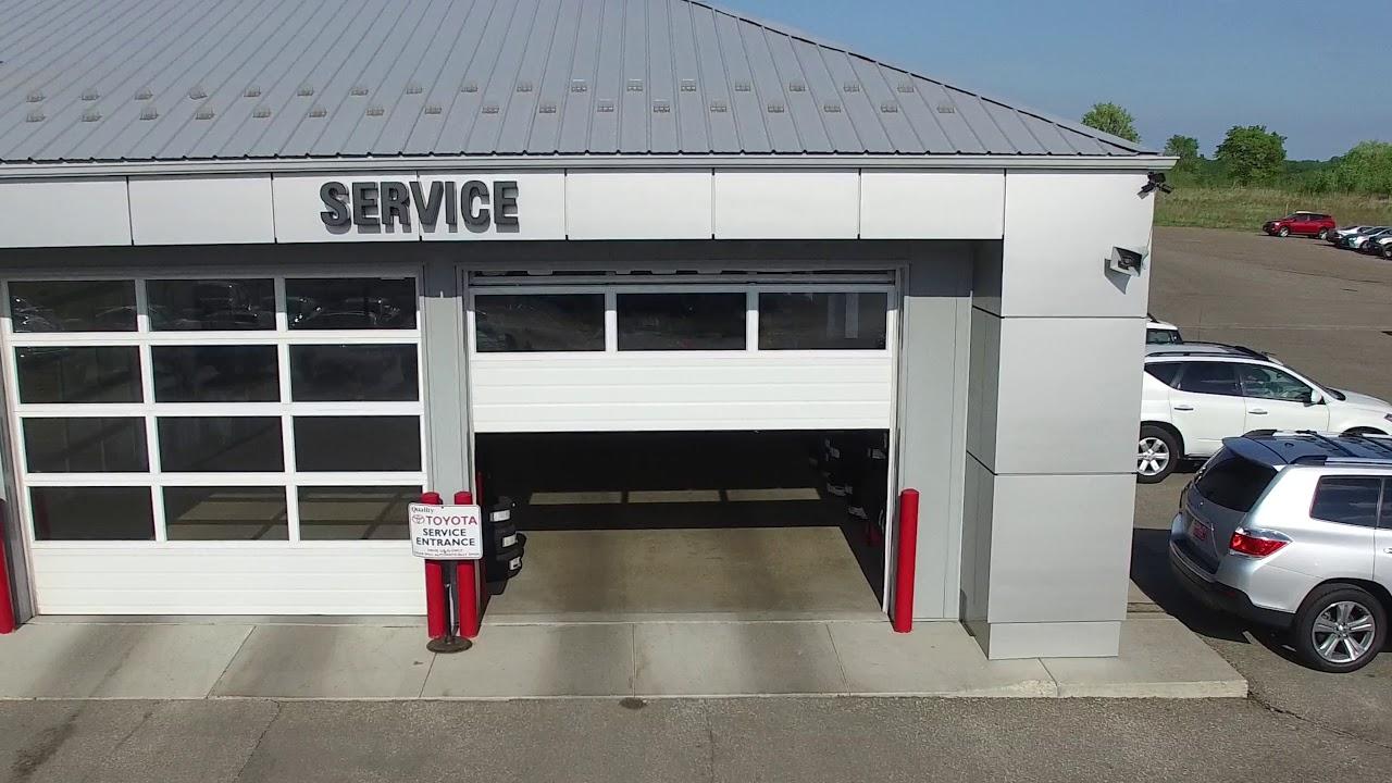 Quality Toyota Aerial Video