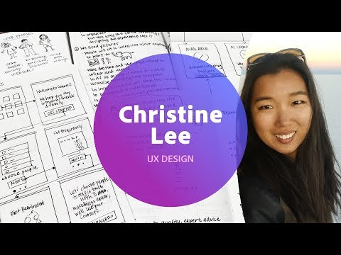 Live UI/UX Design with Christine Lee - 1 of 3