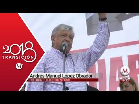 AMLO se reúne con el gobernador de Michoacán