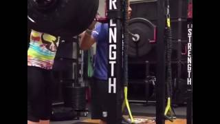 13 year old raise 111 kq ( 245 pounds )