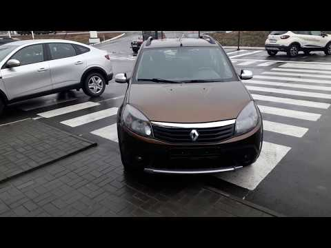 Купить Рено Сандеро Степвей (Renault Sandero Stepway) 2013 г с пробегом бу в Балаково Элвис Trade In