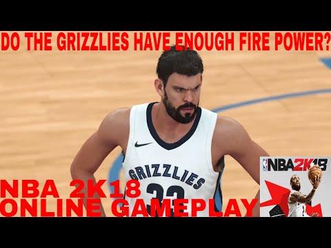 NBA 2K18 Online Gameplay (Memphis Grizzlies vs Toronto Raptors)