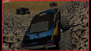 4x4 Monster Trucks Fight Off Road!